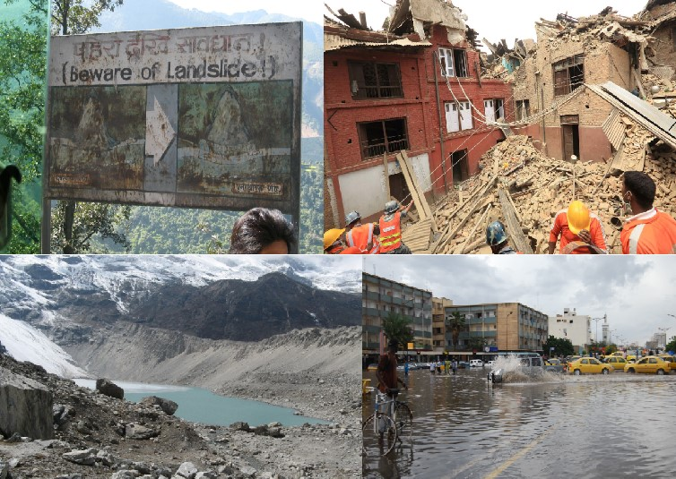 Natural hazards in Nepal and Senegal